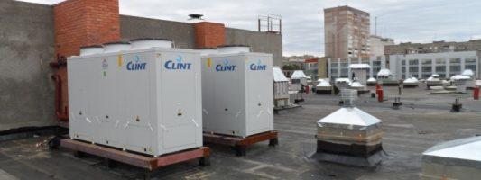 Монтаж вентиляционного оборудования, кондиционеров в ЦЗ Atmosfera